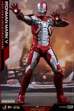Фигурка Железный человек, доспехи номер V Hot Toys Марвел фотография-01.jpg