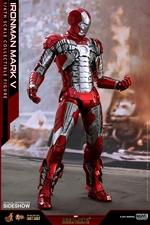 Фигурка Железный человек, доспехи номер V Hot Toys Марвел фотография-02.jpg