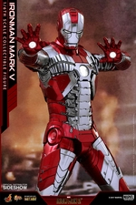 Фигурка Железный человек, доспехи номер V Hot Toys Марвел фотография-12.jpg