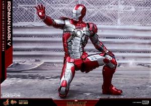 Фигурка Железный человек, доспехи номер V Hot Toys Марвел фотография-17.jpg