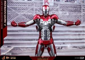 Фигурка Железный человек, доспехи номер V Hot Toys Марвел фотография-18.jpg