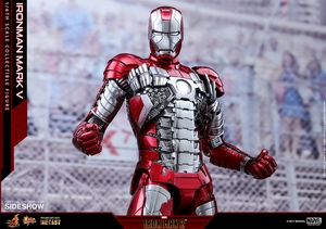Фигурка Железный человек, доспехи номер V Hot Toys Марвел фотография-19.jpg
