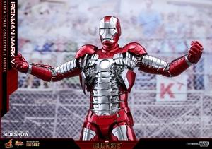 Фигурка Железный человек, доспехи номер V Hot Toys Марвел фотография-20.jpg