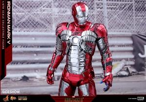 Фигурка Железный человек, доспехи номер V Hot Toys Марвел фотография-21.jpg
