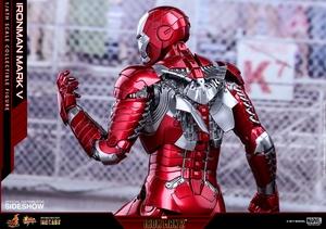 Фигурка Железный человек, доспехи номер V Hot Toys Марвел фотография-23.jpg