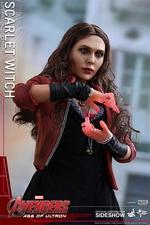 Фигурка Алая ведьма Hot Toys Марвел фотография-11.jpg