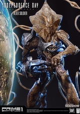 Фигурка из искусственного камня Инопланетный солдат Prime 1 Studio Independence Day: Resurgence фотография-01.jpg