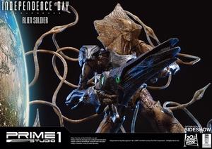 Фигурка из искусственного камня Инопланетный солдат Prime 1 Studio Independence Day: Resurgence фотография-21.jpg