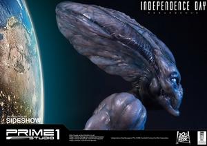 Бюст в натуральную величину Инопланетянин Prime 1 Studio Independence Day: Resurgence фотография-11.jpg