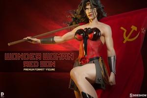 Коллекционная фигурка Чудо-женщина - Красный сын Sideshow Collectibles ДС комикс фотография-01.jpg