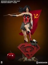 Коллекционная фигурка Чудо-женщина - Красный сын Sideshow Collectibles ДС комикс фотография-04.jpg