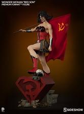 Коллекционная фигурка Чудо-женщина - Красный сын Sideshow Collectibles ДС комикс фотография-05.jpg