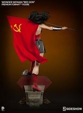 Коллекционная фигурка Чудо-женщина - Красный сын Sideshow Collectibles ДС комикс фотография-06.jpg