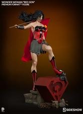 Коллекционная фигурка Чудо-женщина - Красный сын Sideshow Collectibles ДС комикс фотография-07.jpg