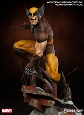 Коллекционная фигурка Росомаха - Костюм Брауна Sideshow Collectibles Марвел фотография-03.jpg
