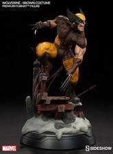 Коллекционная фигурка Росомаха - Костюм Брауна Sideshow Collectibles Марвел фотография-05.jpg