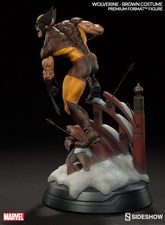 Коллекционная фигурка Росомаха - Костюм Брауна Sideshow Collectibles Марвел фотография-06.jpg