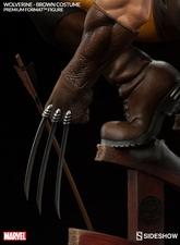 Коллекционная фигурка Росомаха - Костюм Брауна Sideshow Collectibles Марвел фотография-09.jpg