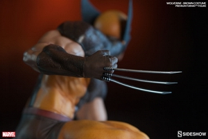 Коллекционная фигурка Росомаха - Костюм Брауна Sideshow Collectibles Марвел фотография-10.jpg