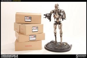 Life-Size Figure Эндоскелет T-800 Sideshow Collectibles Терминатор фотография-007.jpg