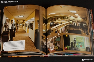 Книга Внутри студии Sideshow Современная среда эпохи Возрождения Sideshow Collectibles Сайдшоутойс, сайдшоу колектиблс фотография-005.jpg