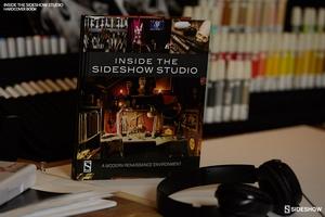Книга Внутри студии Sideshow Современная среда эпохи Возрождения Sideshow Collectibles Сайдшоутойс, сайдшоу колектиблс фотография-007.jpg