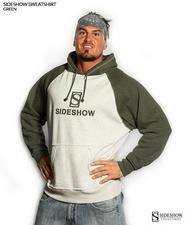 Одежда Толстовки с капюшоном - зеленый Sideshow Collectibles Сайдшоутойс, сайдшоу колектиблс фотография-001.jpg