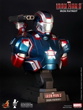 Коллекционный бюст Железный патриот Hot Toys Марвел фотография-001.jpg