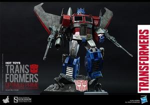 Коллекционная фигурка Главный Optimus (версия Starscream) Hot Toys Трансформеры фотография-002.jpg