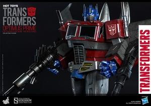Коллекционная фигурка Главный Optimus (версия Starscream) Hot Toys Трансформеры фотография-011.jpg