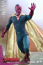 Фигурка Видение Hot Toys Марвел фотография-06.jpg