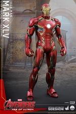 Фигурки в масштабе 1:4 Железный человек Марк XLV Hot Toys Марвел фотография-02.jpg