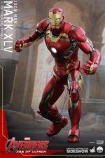 Фигурки в масштабе 1:4 Железный человек Марк XLV Hot Toys Марвел фотография-03.jpg