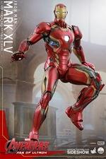 Фигурки в масштабе 1:4 Железный человек Марк XLV Hot Toys Марвел фотография-04.jpg