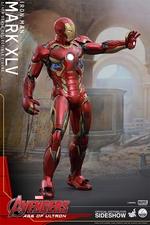 Фигурки в масштабе 1:4 Железный человек Марк XLV Hot Toys Марвел фотография-05.jpg