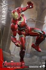 Фигурки в масштабе 1:4 Железный человек Марк XLV Hot Toys Марвел фотография-06.jpg
