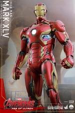 Фигурки в масштабе 1:4 Железный человек Марк XLV Hot Toys Марвел фотография-07.jpg