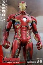 Фигурки в масштабе 1:4 Железный человек Марк XLV Hot Toys Марвел фотография-08.jpg