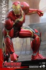 Фигурки в масштабе 1:4 Железный человек Марк XLV Hot Toys Марвел фотография-09.jpg