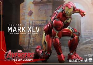 Фигурки в масштабе 1:4 Железный человек Марк XLV Hot Toys Марвел фотография-12.jpg