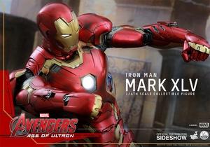 Фигурки в масштабе 1:4 Железный человек Марк XLV Hot Toys Марвел фотография-15.jpg