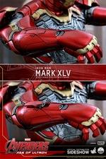 Фигурки в масштабе 1:4 Железный человек Марк XLV Hot Toys Марвел фотография-17.jpg