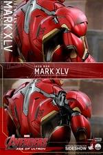 Фигурки в масштабе 1:4 Железный человек Марк XLV Hot Toys Марвел фотография-18.jpg