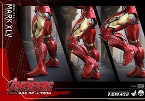 Фигурки в масштабе 1:4 Железный человек Марк XLV Hot Toys Марвел фотография-19.jpg