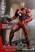 Фигурки в масштабе 1:4 Железный человек Марк XLV Hot Toys Марвел фотография-01.jpg
