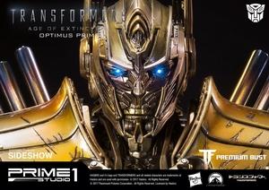 Бюст Версия Optimus Prime Gold (Трансформеры) Prime 1 Studio Трансформеры фотография-02.jpg