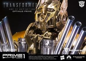 Бюст Версия Optimus Prime Gold (Трансформеры) Prime 1 Studio Трансформеры фотография-03.jpg