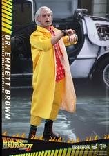 Фигурка Доктор Эммет Браун Hot Toys Назад в будущее фотография-02.jpg