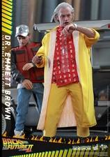 Фигурка Доктор Эммет Браун Hot Toys Назад в будущее фотография-09.jpg