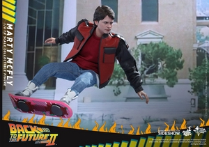 Фигурка Марти Макфлай Hot Toys Назад в будущее фотография-12.jpg